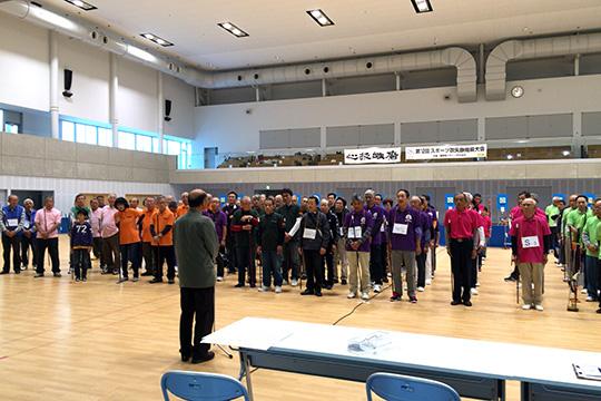 熊切県会長による開会挨拶