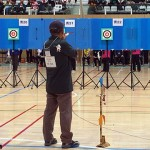 8m男子・寺田さんの競技の様子です