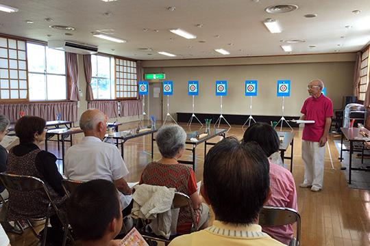 2015年9月に開いた体験会の様子(1)