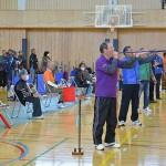 競技風景その1(静岡新聞社提供)