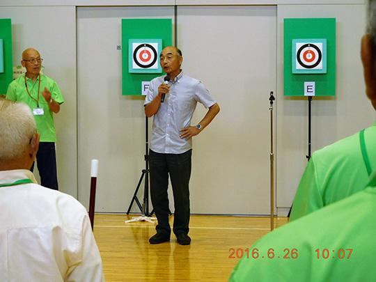 熊切県会長のご挨拶
