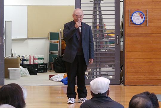 閉会式の締めには、山田先生から講評をいただきました。