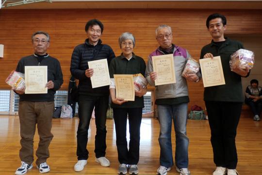 団体戦第3位、磐田南Bチームの皆さん。