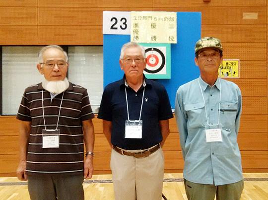 右側が第3位に輝いた石川さんです