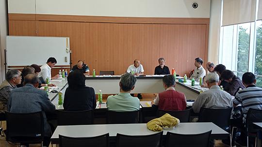 午後は県内各支部の支部長が集っての臨時理事会です