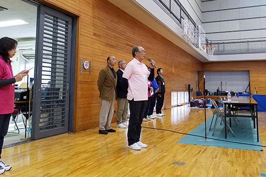 尾髙県副会長による開会宣言。
