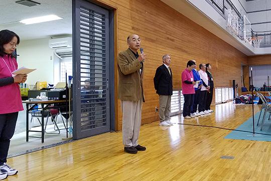熊切県会長の挨拶