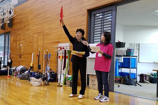 杉山県審判・競技部長より、審判及び競技の説明がありました