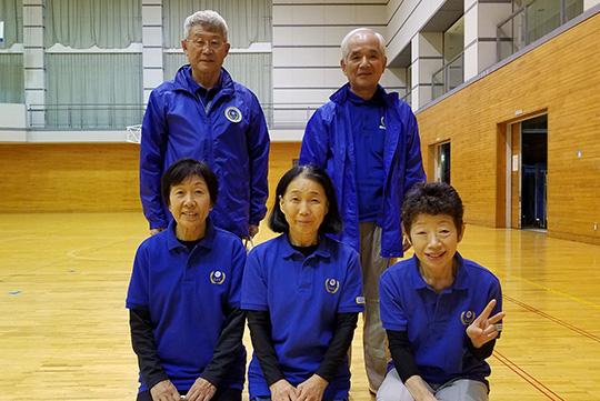 団体戦1位の三島・沼津L&G Aチーム
