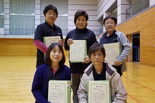 団体戦3位の富士今泉チーム