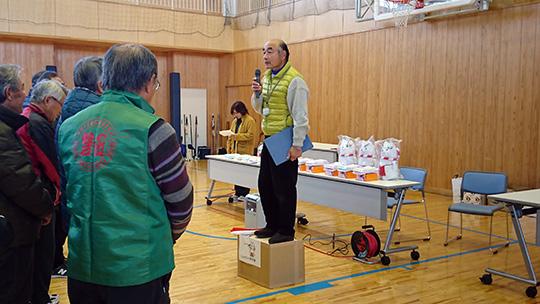 主催の磐田南支部・熊切支部長より、挨拶と競技説明がありました
