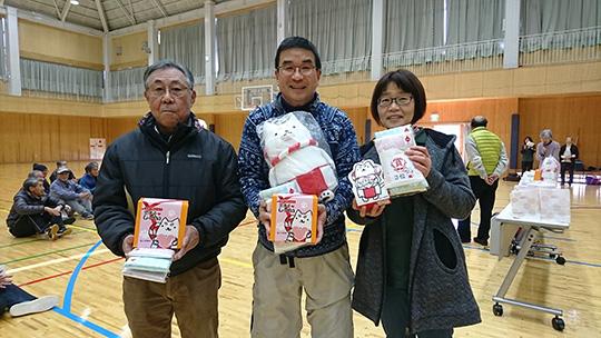 8mの部入賞者。中央が優勝された清水さんです